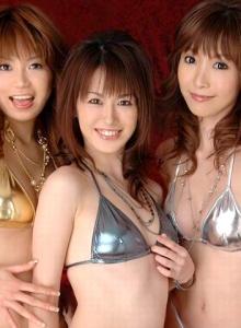 Yui natsuki threesome internal cumshot