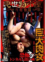 The Cruel Story Of A Freak Show. The Gigantic Woman's Human Tunnel Project Of Fear Kiyomi Suzumo - 見世物小屋残酷物語 巨大肉女恐怖のトンネル人間計画 涼本清美
