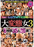 Extremly Pervy Girls, 38 Hours, 35 Girls, 30 Selections!! - 大変態女 3 8時間35人30選!! [cadv-567]