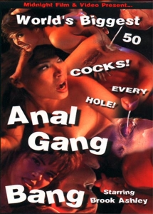 Worlds biggest anal gang bang