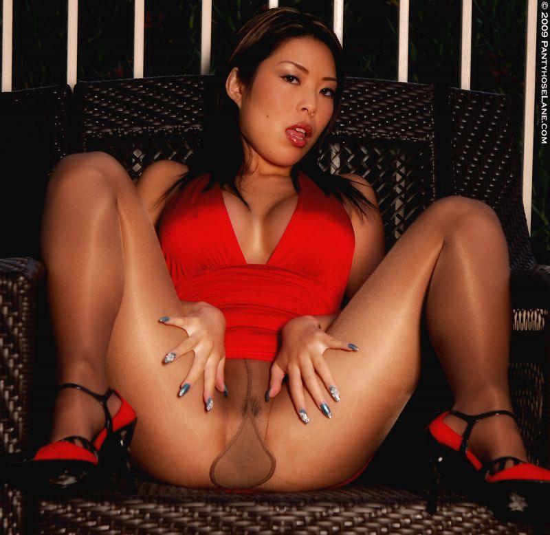 Asia pantyhose pornstar