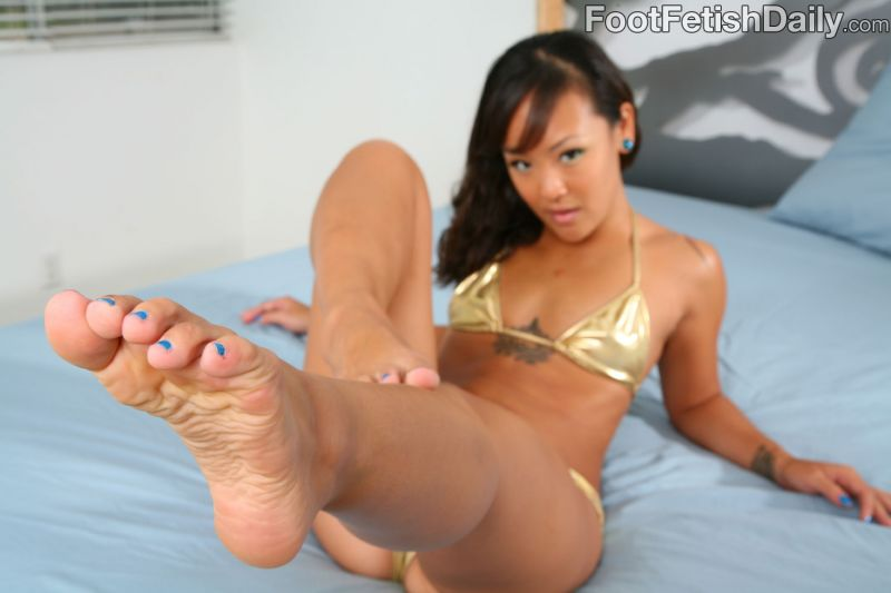 Congratulate, what Asian feet fetish pornstar something is