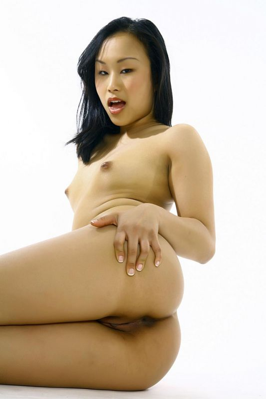 Young oriental nude
